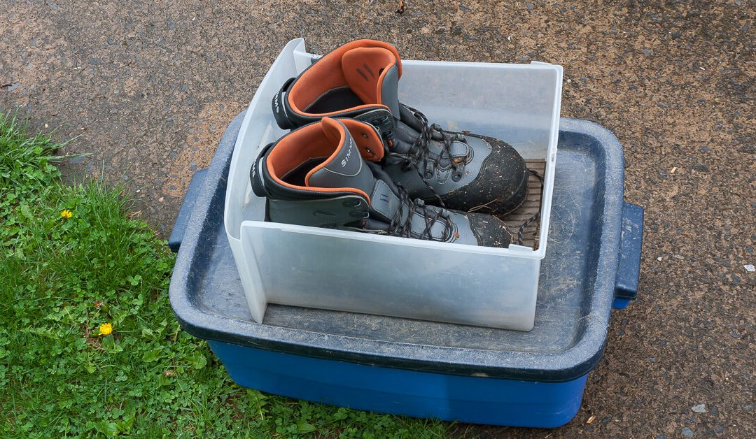 DIY — Put Your Wet Boots Here