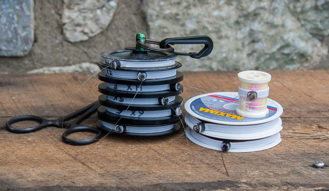 DIY Spool Tenders via Tightline Productions