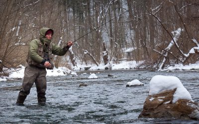 """Get me back to my fly line"" — Connecting and disconnecting the Mono Rig"