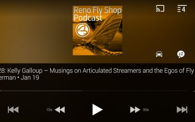 Streamside | Kelly Galloup with Reno Fly Shop Podcast