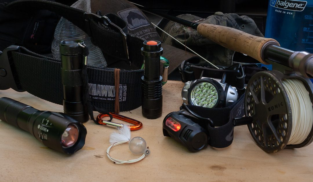 Night Fishing for Trout — Headlamps, Flashlights and Glow-in-the-Dark Stuff