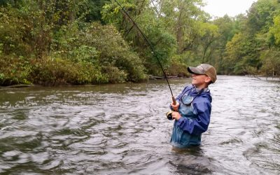 "Fishing With Kids — ""Born to fish big"""