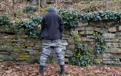 How to pee with your waders on