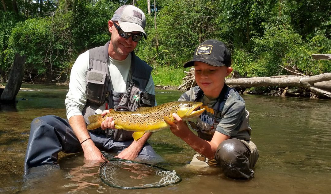 Dry Fly Fishing — The Forehand and Backhand Curve